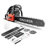 COOCHEER Chainsaw, 62CC 2 Stroke...