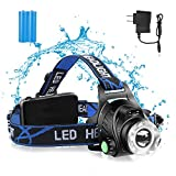 【24 Hours | Wireless induction】1200 Lumen Led Headlamp Flashlight...