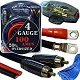 20 Foot 4 Gauge Amp Kit...