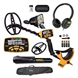 Garrett ACE 400 Metal Detector with Waterproof Coil Pro-Pointer II and Carry Bag