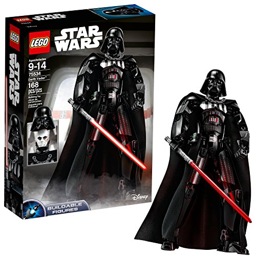 LEGO Star Wars Darth Vader 75534 Building Kit (168 Piece)