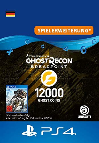 Ghost Recon Breakpoint - 9600 (+2400) Ghost Coins 12000 Coins   PS4 Download Code - deutsches Konto