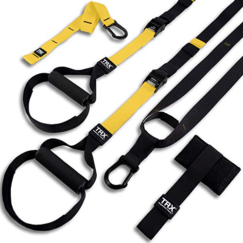 TRX ALL-IN-ONE Suspension Training: Bodyweight Resistance System | Full Body Workouts for Home, Travel, and...