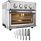 Cuisinart TOA-60 Convection Toaster Oven Air Fryer with Light, Silver Bundle with Exclusive...