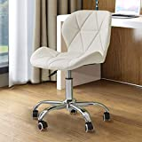 TUKAILAi 1PCS Adjustable Office Chair Faux Leather Swivel Computer Desk with Wheels ChairHome Office...