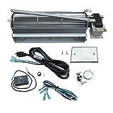 Direct Store Parts Kit DN114 Fireplace Blower Kit FK4 GFK4 R7-RB74K HB-RB74K for Heatilator Rotom