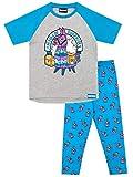 Fortnite Pijamas de Manga Corta para niños Llama Multicolor 9-10 Años