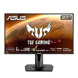 ASUS TUF Gaming VG279QM 27 HDR Monitor, 1080P Full HD (1920 x 1080) Fast IPS, 280Hz, G-SYNC Compatible, Extreme Low Motion Blur Sync (ELMB SYNC) 1ms, DisplayHDR 400, Eye Care, DisplayPort Dual HDMI