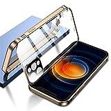 ダブル安全ロック付き iPhone11Pro ケース レンズ保護カバー付き 表裏両面ガラス iPhone 11 Pr……