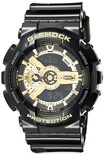 Casio Herren Analog/Digital Quarz mit Resin Armbanduhr GA110GB1AER