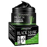Maschera Nera, Black Mask, Blackhead Remover Mask, Maschera di comedone, Facciale Cura Strappando Stile Pulizia Profonda Pulizia Rimozione Di Comedone...