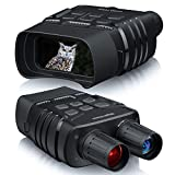BOOVV Night Vision Binoculars, Digital Infrared Goggles 984ft Night Vision Scope for Total Darkness Spotting Hunting Surveillance Camping with 32GB Memory Card for Photo and Video Storage