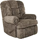 Lane Stallion Big Man (Extra Large) Comfort King Wallsaver Recliner in Gladiator Cafe'.(Brown) Made for The Big Guy Or Gal. Rated for Up to 500 Lbs. Extended Length. 79'. Seat Width. 25'. 4501L.