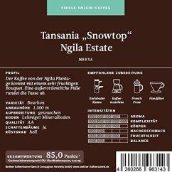"Berliner Kaffeerösterei Tansania ""Snowtop"" Ngila Estate"