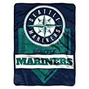 """Comfy Plush fabric Throw perfect for Stadium, home or dorm Large MLB team Sublimated graphics on the front Material: 100% polyester machine wash cold, Do not iron Measures: 60""""W"""" x 80""""L Perfect gift for that high school, college or MLB fan"""