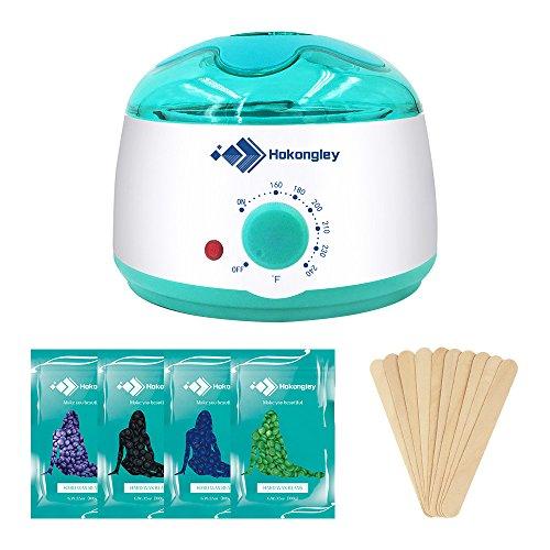 Wax Warmer, Hair Removal Waxing Kit, Electric Wax Heater...