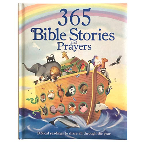 365 Bible and Prayers Padded Treasury - Gift for Easter,...