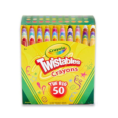 Crayola Twistables Crayons Coloring Set, Kids Craft...