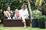 Koll Living Garden Gartenbank mit 265 Liter Stauraum - 5