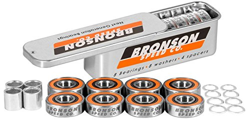 Bronson Speed Co. G3 Bearings (Set of 8)