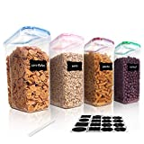 Vtopmart 4L Grands Boite de Conservation Alimentaire sans BPA...