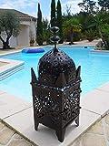 Lanterne marocaine lampe lustre bougeoir bougie applique 65 cm