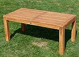AS-S Wuchtiger Teak Bigfuss Gartentisch 180×90 Holztisch Teaktisch Garten Tisch Holz - 4