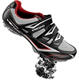 Venzo Mountain Bike Bicycle Cycling Compatible with Shimano SPD Shoes + Pedals & Cleats 46