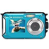 AGFA PHOTO - WP8000 - Appareil Photo Numérique Étanche - 24MP – Bleu