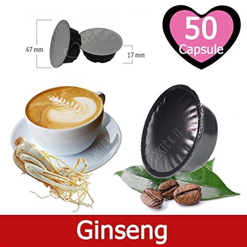 50 Capsule Caffè Solubile al Ginseng Compatibili Lavazza A Modo Mio