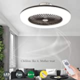 WJJH Ventilateurs de Plafond avec éclairage avec télécommande Dimmable...