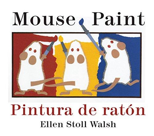 Pintura de Raton/Mouse Paint Bilingual Boardbook