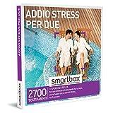 smartbox - Cofanetto Regalo Coppia - Addio Stress per Due - Idee Regalo Originale - 1 Esperienza Relax per 2 Persone