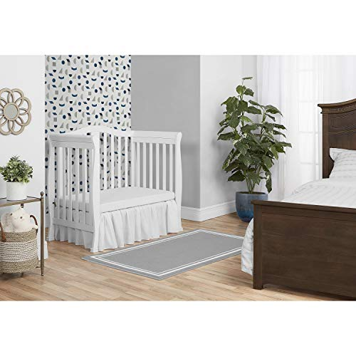 Product Image 4: Dream On Me Addison 4-in-1 Convertible Mini Crib in White, Greenguard Gold Certified