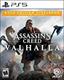 Assassin's Creed Valhalla PlayStation 5 Gold Steelbook Edition (Video Game)