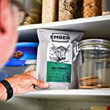 Ember Biltong 1kg Großpacksack – Beef Jerky – Proteinreicher Snack – Knoblauch und Rosmarin (2x500g) - 5