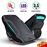 Gyroor Hoverboard Hovershoes-Gyroshoes S300 Electric Roller Skate Hoverboard with LED Lights,UL2272 Certificated Self Balancing Hovershoes for Kids and Adults(Gray)
