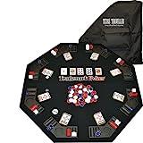 Trademark Poker Texas Traveller Table Top & Chip Travel Set