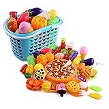 Ensemble de 40 fruits et légumes dînette pour enfants