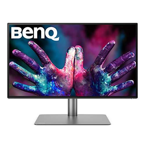 """BenQ PD2725U - Monitor Profesional de 27"""" 4K para Mac/diseñadores, UHD, HDR, IPS, AQCOLOR, Thunderbolt 3, P3"""