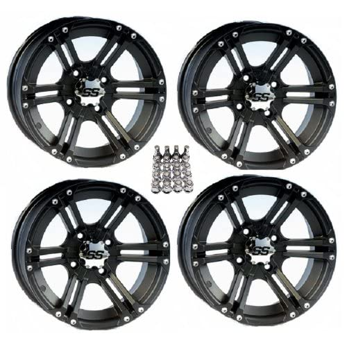 Itp Ss212 Atv Wheels Rims Black
