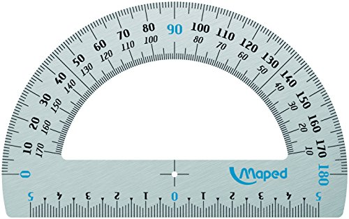Maped Goniometro 180° 12 cm Aluminio 129200