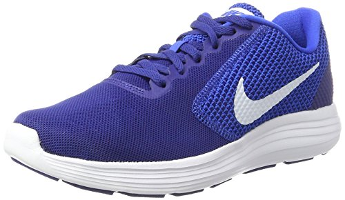 Nike Men's Revolution 3 Deep Royal Blue Running Shoes-6 UK (40 EU) (7 US)(819300-408)