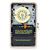 Intermatic T104P3 208-277 Volt DPST 24 Hour Mechanical Time Switch