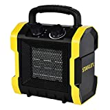 STANLEY ST-222A-120 Electric Heater, Black, Yellow