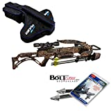 Excalibur Matrix Bulldog 400 Crossbow Package with upgraded TWILIGHT DLX Scope - Case & Bolt Cutter Broadheads