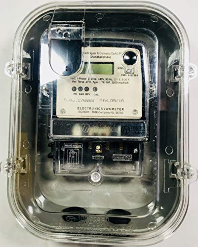 Indotech Single Phase 5-30A LCD Display Energy Sub Meter with Meter Box