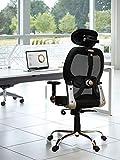 Savya Home® New Launch!! APEX Chairs™ Apollo Plus Chrome Base & ARM HIGH Back Office Chair (Adjustable Chrome ARM)