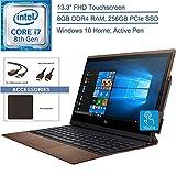 2019 HP Spectre Folio Convertible 13.3' FHD Touchscreen Laptop Computer, 8th Gen Intel Core i7-8500Y up to 4.2GHz, 8GB RAM, 256GB PCIe SSD, Active Pen, Windows 10 + EST Accessories