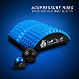Back Stretcher - Back Pain Relief - Sciatica Pain Relief - Posture Corrector - Spinal Stenosis Pain Relief - Neck Pain Relief - Two Massage Balls for Back Pain Included!! !